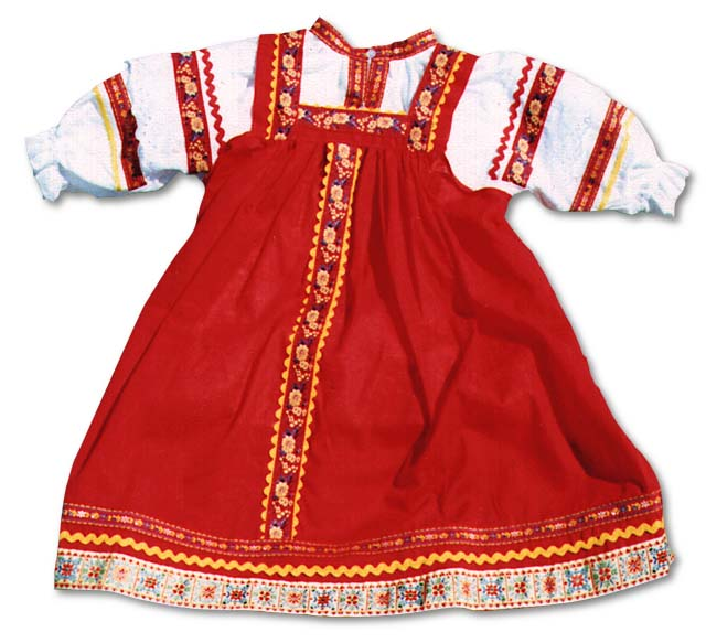 russian clothing traditional dresses sarafan