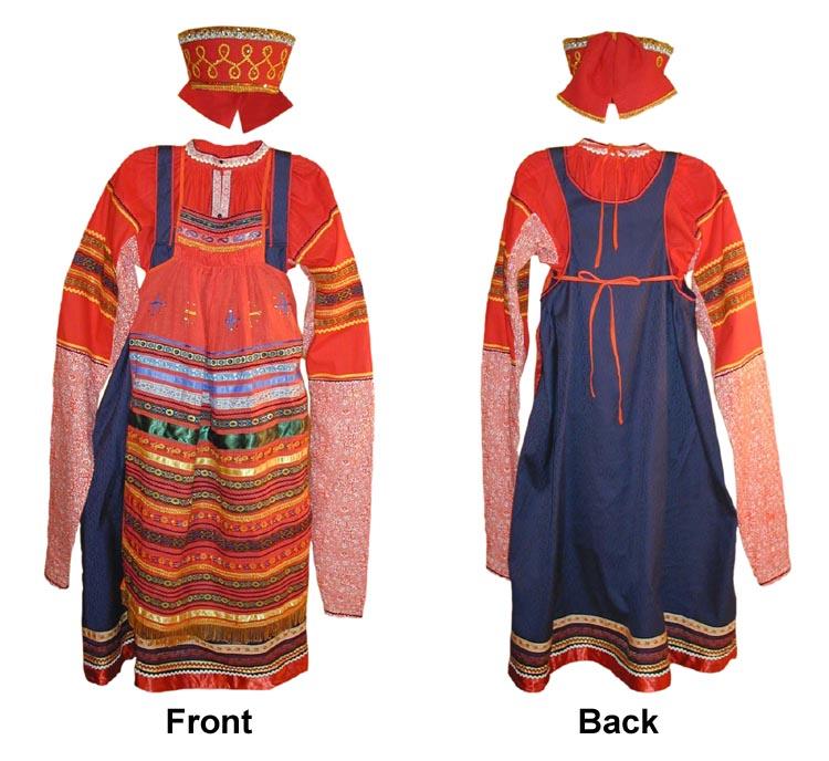 Russian Women Festive Dress Skip 66