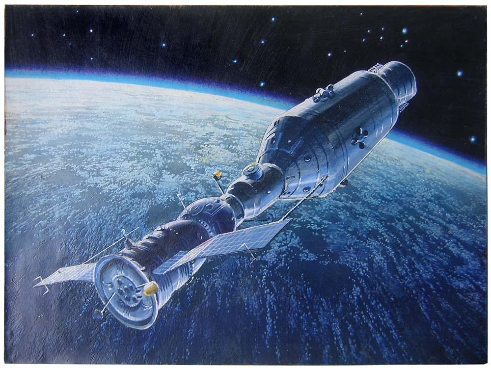 stages of apollo spacecraft docking - photo #1