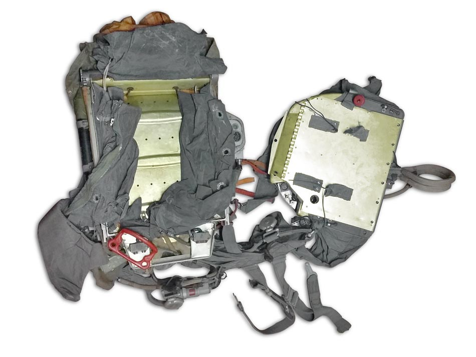 Parachute system PSPK-1 backpack. Click to enlarge the picture.