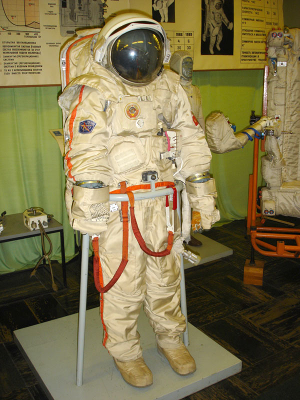putting on a space suit - photo #14