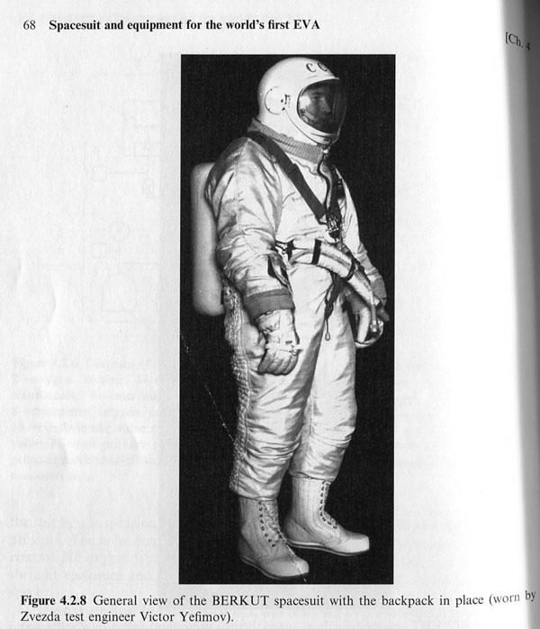 Berkut is Russian space suit, operational 1965. Berkut was ...